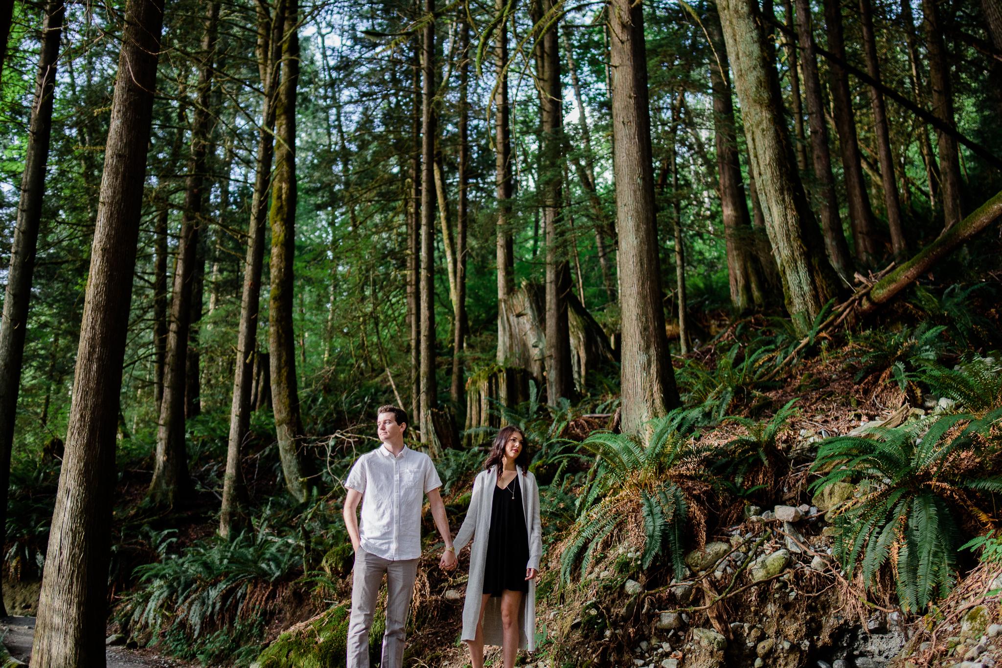 Photo of Buntzen Lake Anmore British Columbia Landscape Best Fun Engagement Photographer Port Moody Wedding Sunset Romantic Couple Photos 013.jpg