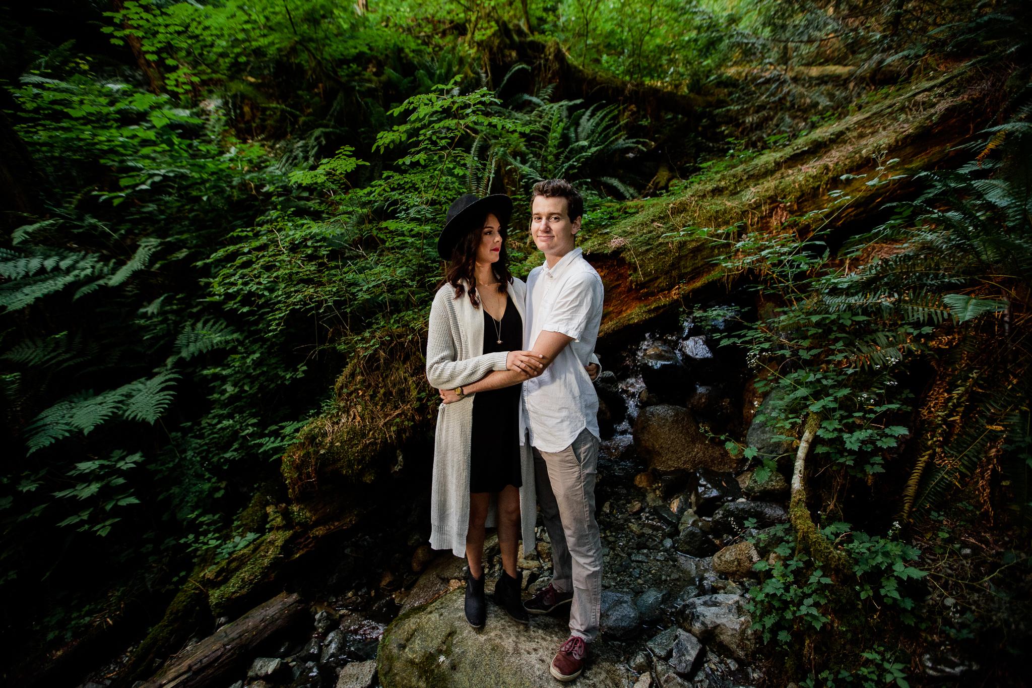 Photo of Buntzen Lake Anmore British Columbia Landscape Best Fun Engagement Photographer Port Moody Wedding Sunset Romantic Couple Photos 035.jpg