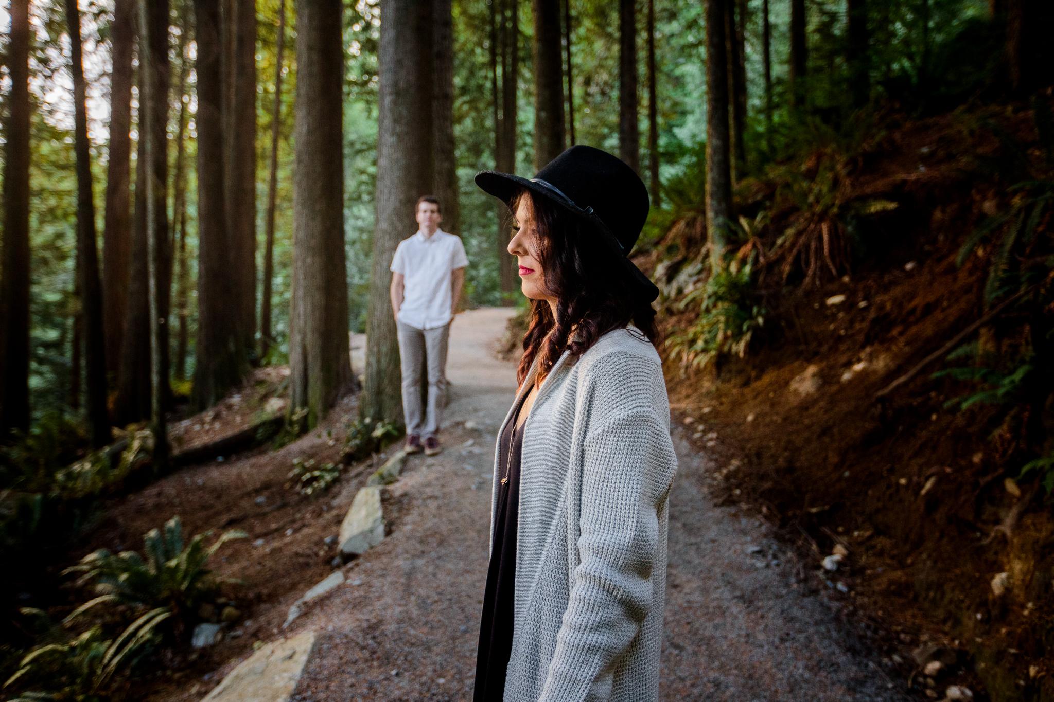 Photo of Buntzen Lake Anmore British Columbia Landscape Best Fun Engagement Photographer Port Moody Wedding Sunset Romantic Couple Photos 045.jpg