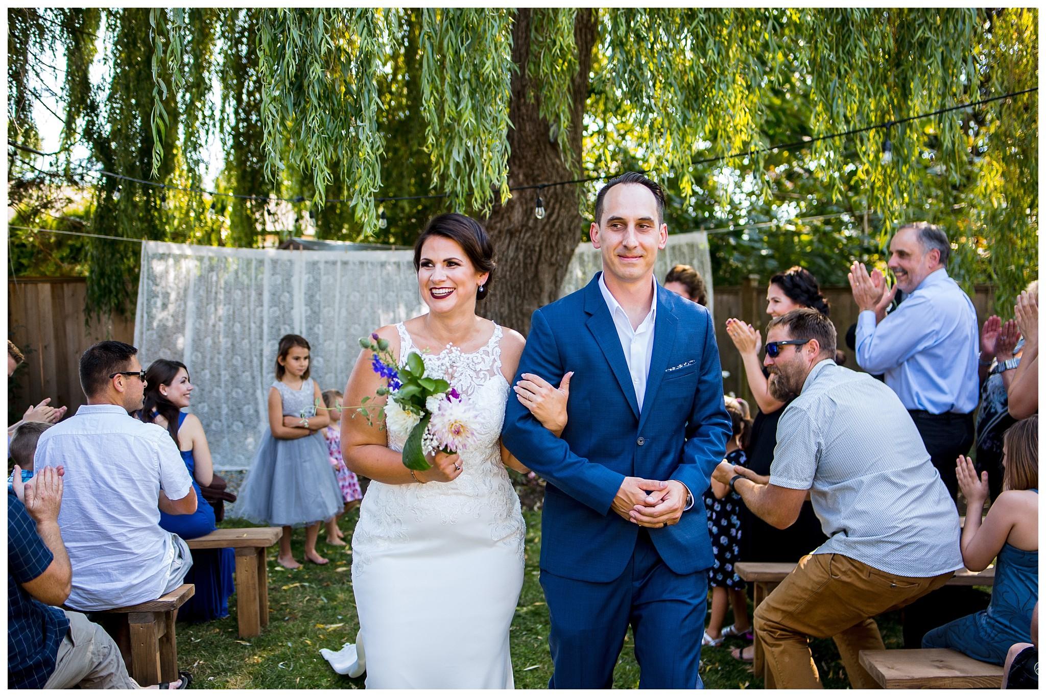 Aldergrove backyard summer wedding photographer bc canada outdoor garden inspiration family couple with kids, bride and groom_0060.jpg