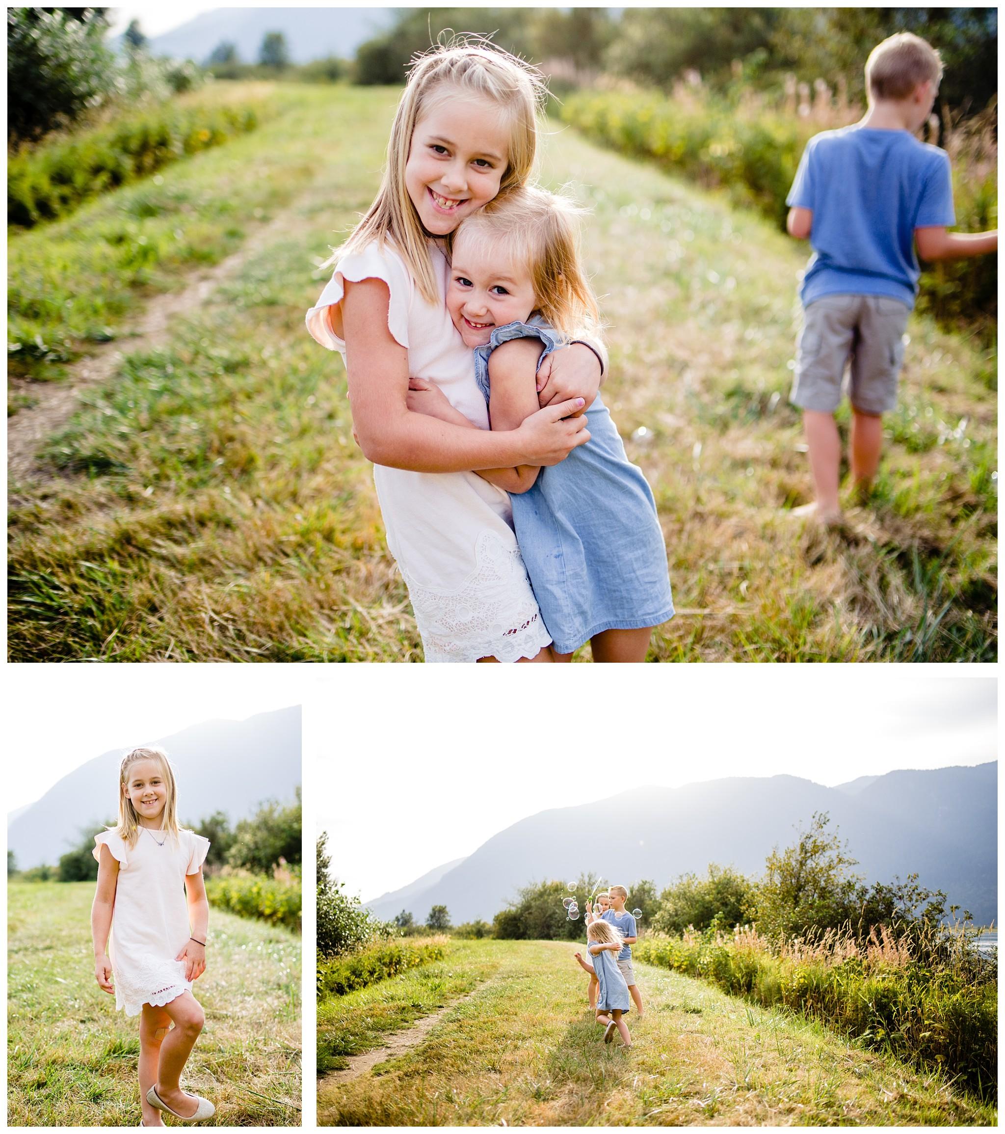Pitt Lake Documentary Family Photographer Bubbles Mud Family of 6 Boys Girls Children_0088.jpg