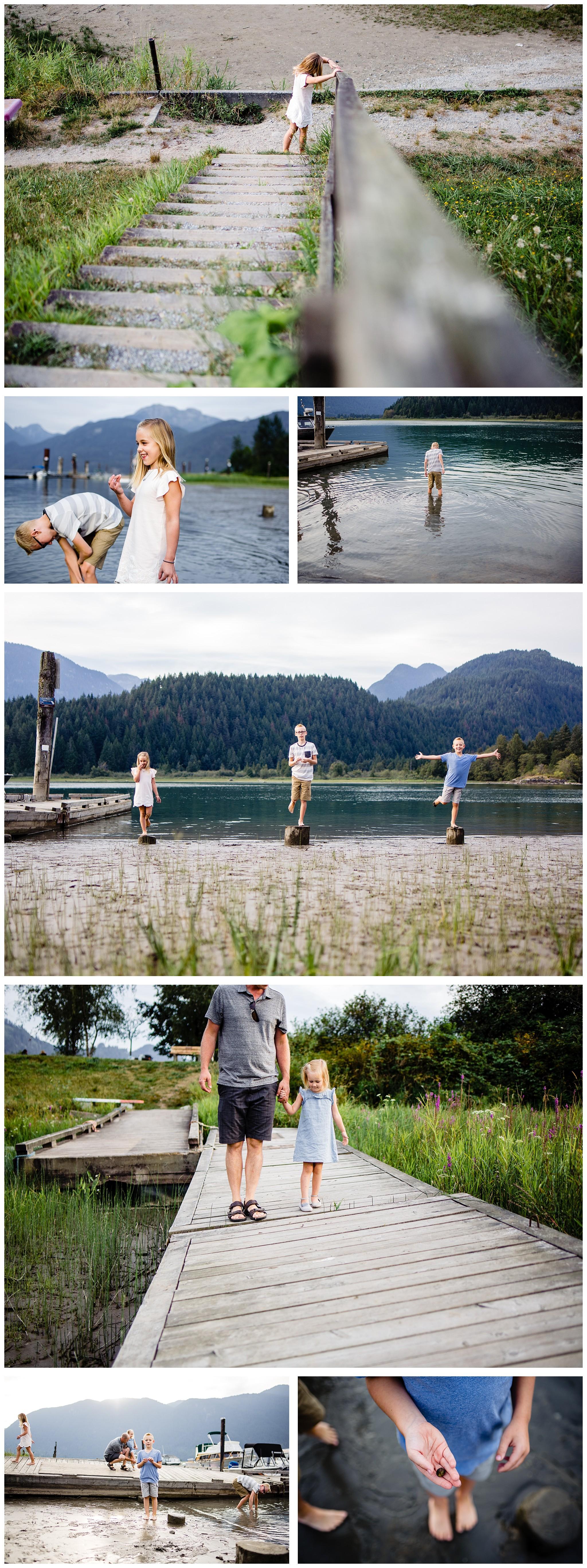 Pitt Lake Documentary Family Photographer Bubbles Mud Family of 6 Boys Girls Children_0091.jpg