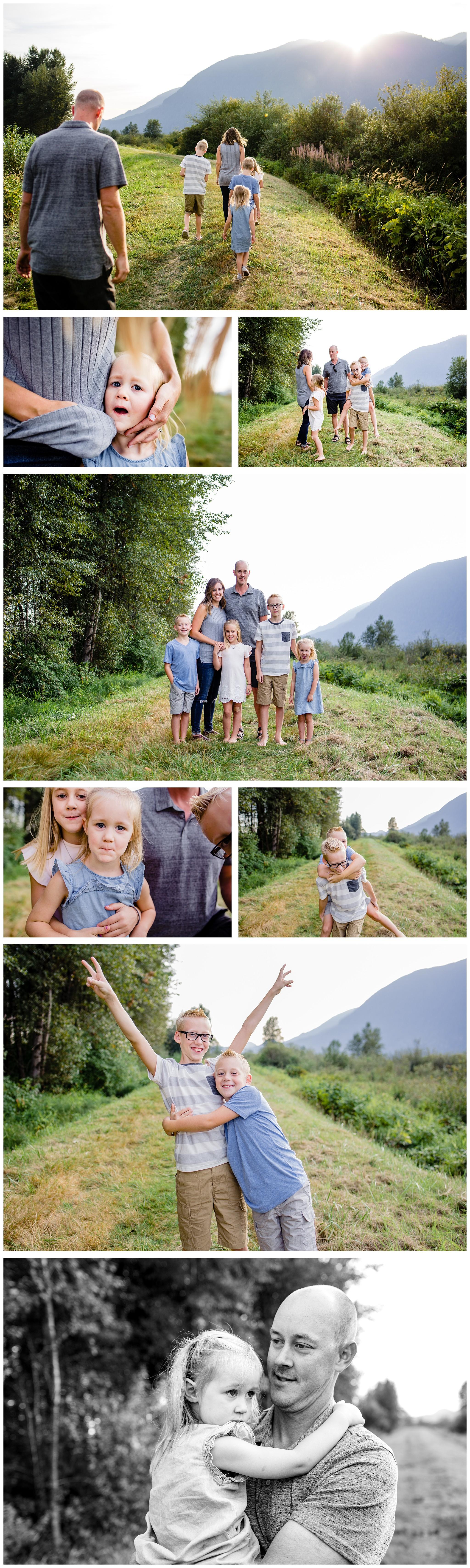 Pitt Lake Documentary Family Photographer Bubbles Mud Family of 6 Boys Girls Children_0093.jpg