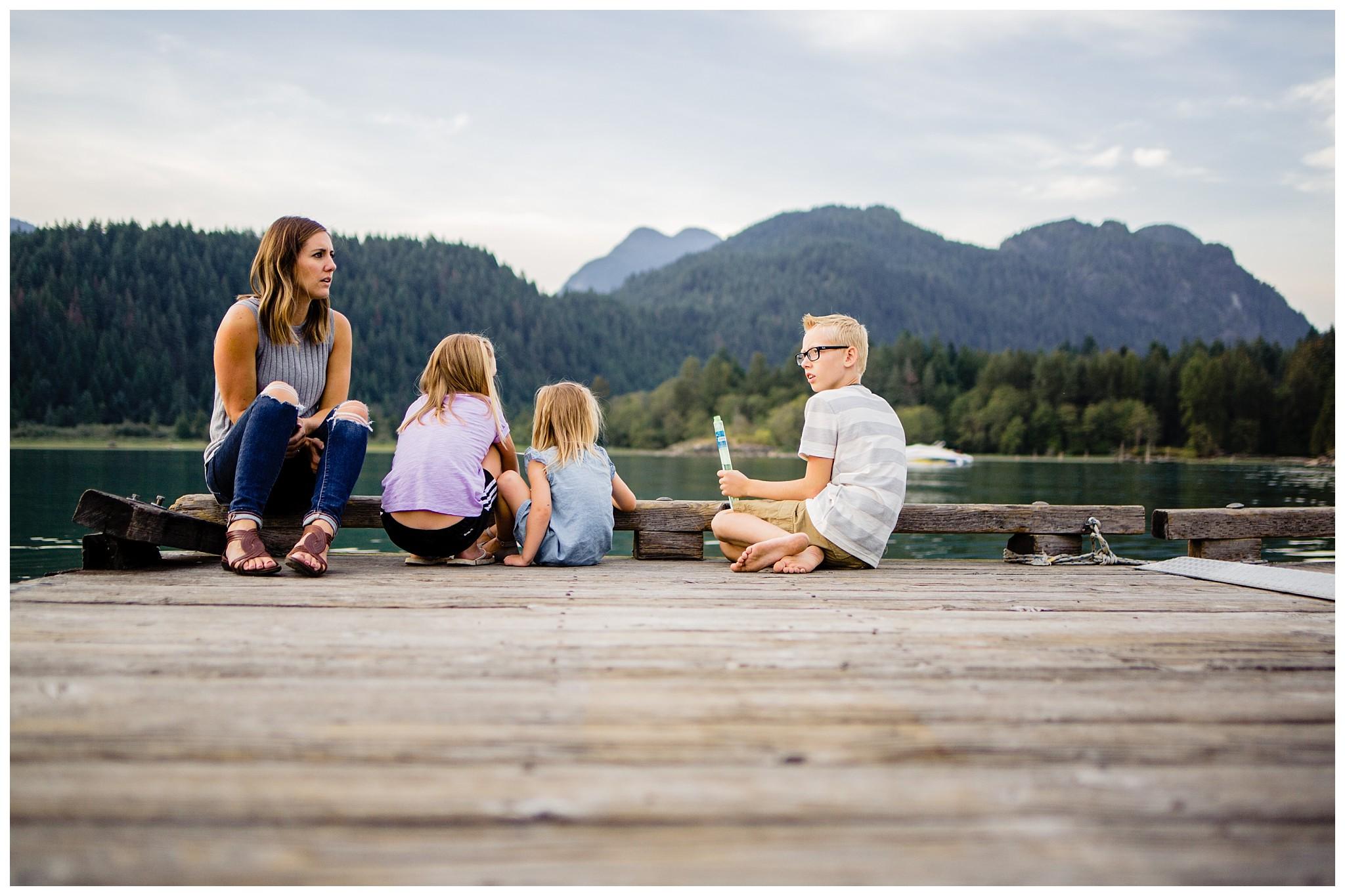 Pitt Lake Documentary Family Photographer Bubbles Mud Family of 6 Boys Girls Children_0096.jpg