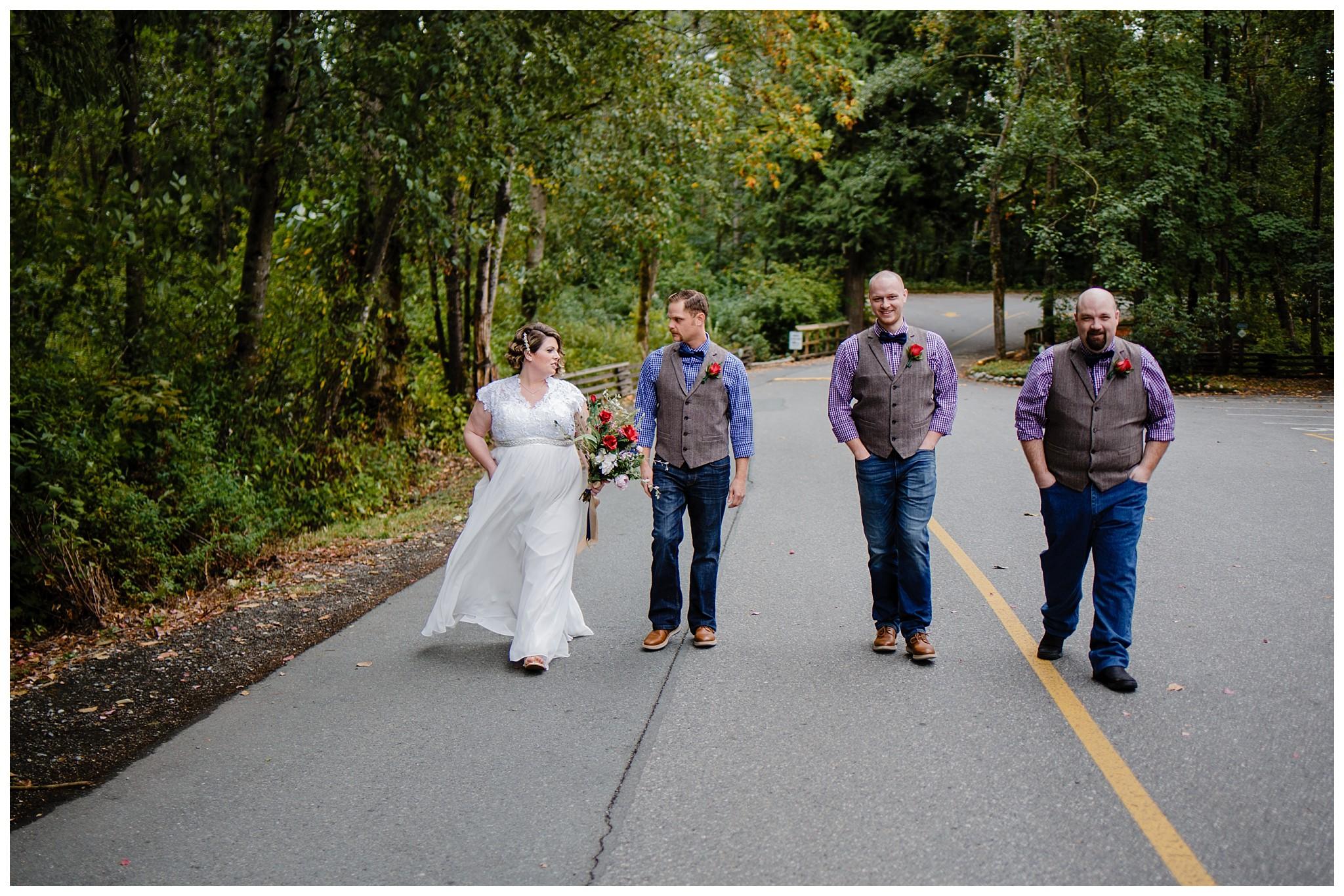 Aldergrove Park Fall Backyard Wedding Photographer Pregnant Bride Tent Outdoor BC Canada Best Wedding Photographer_0021.jpg