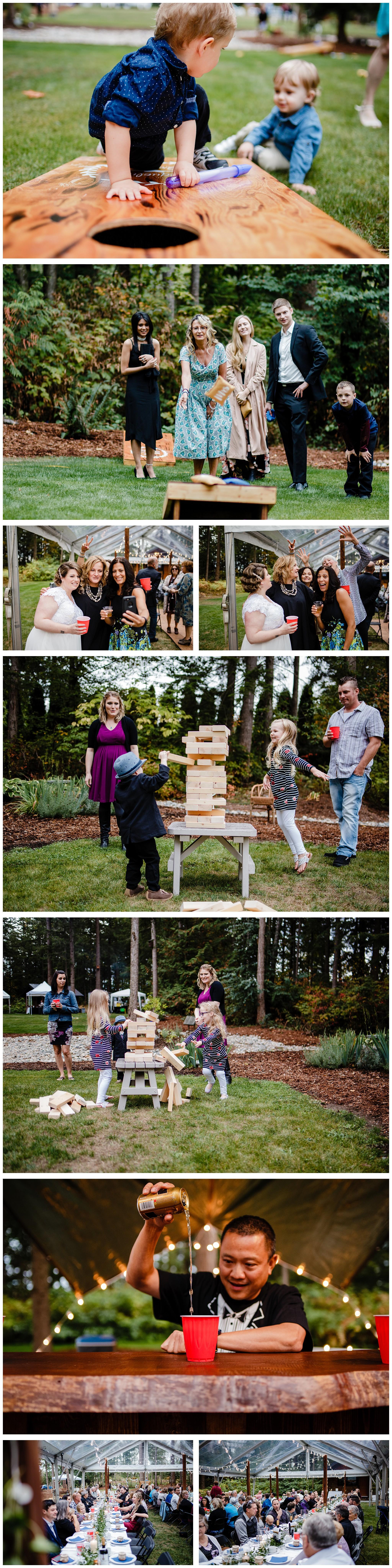 Aldergrove Park Fall Backyard Wedding Photographer Pregnant Bride Tent Outdoor BC Canada Best Wedding Photographer_0044.jpg