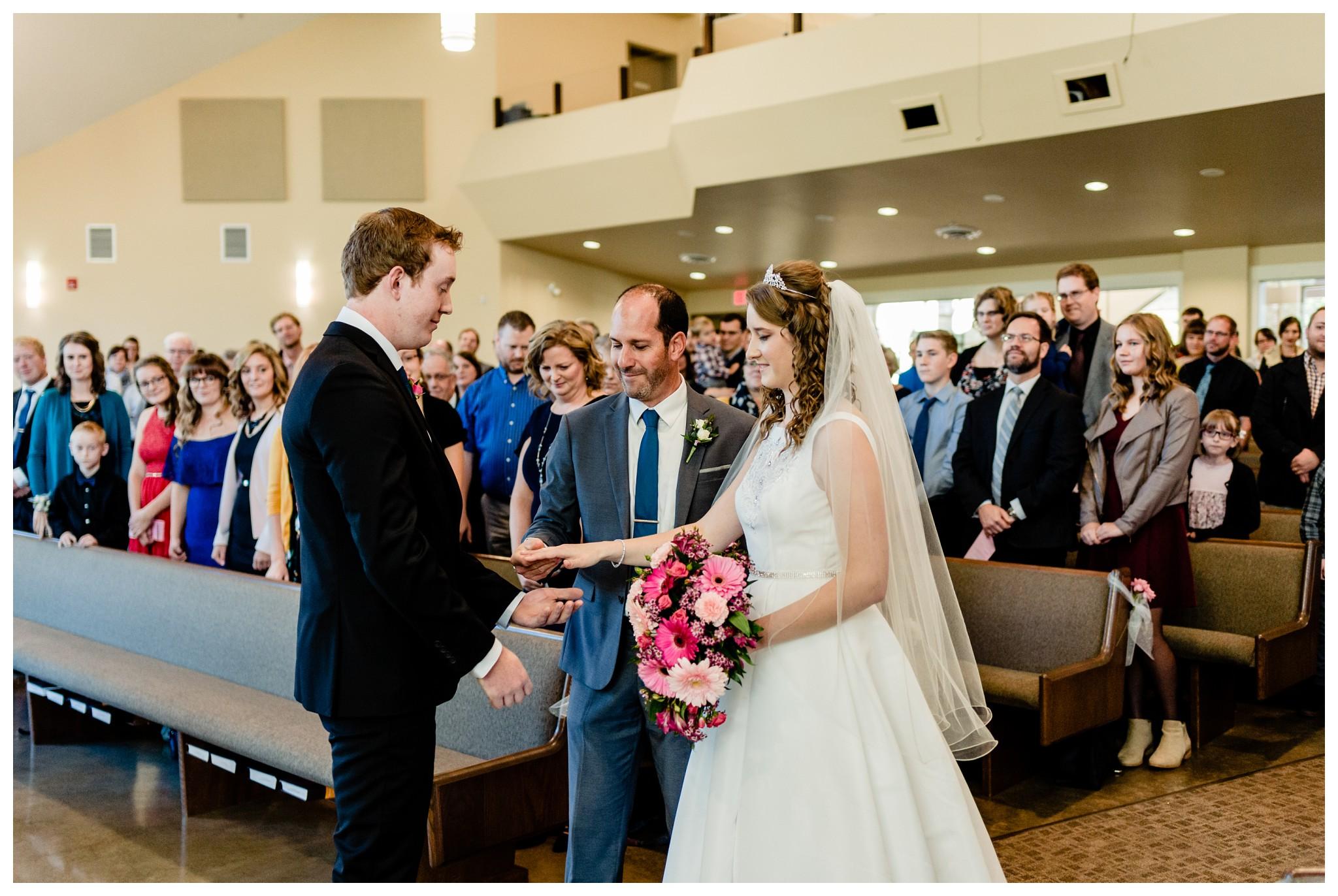 Aldergrove Park Christian Church Wedding Photography Pink Flowers Blue Bridesmaid Dress Fall_0060.jpg