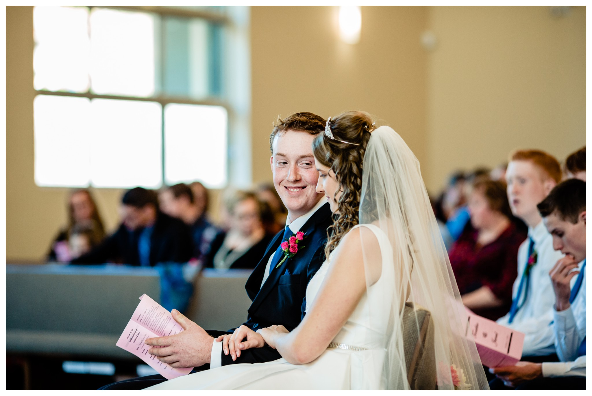 Aldergrove Park Christian Church Wedding Photography Pink Flowers Blue Bridesmaid Dress Fall_0062.jpg