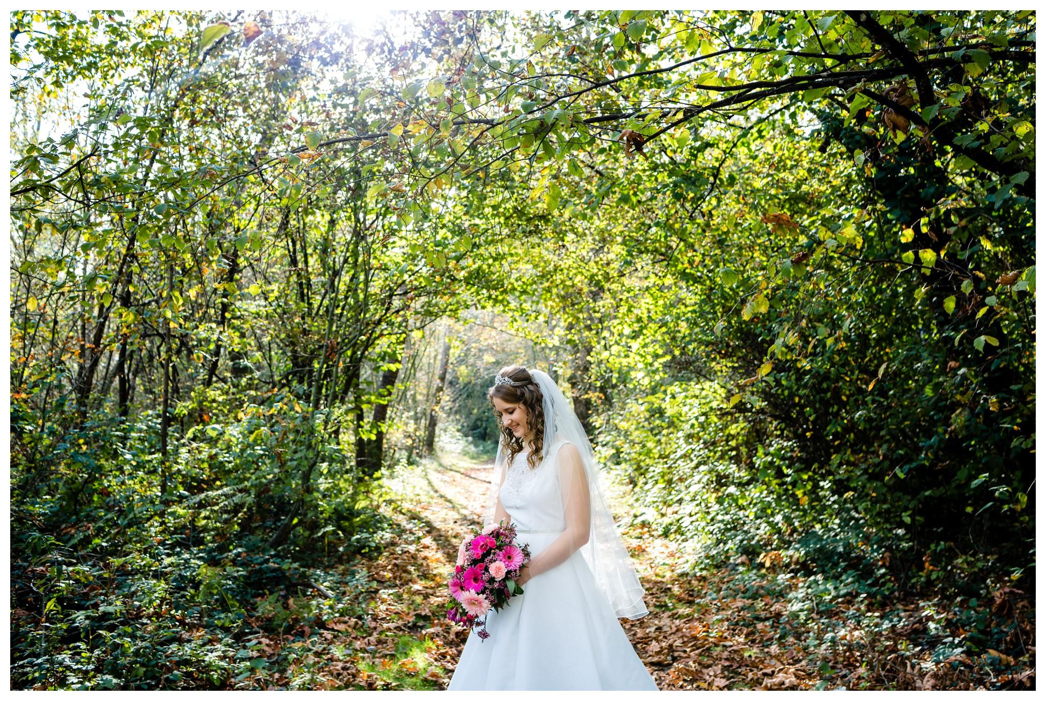 Aldergrove Park Christian Church Wedding Photography Pink Flowers Blue Bridesmaid Dress Fall_0097.jpg