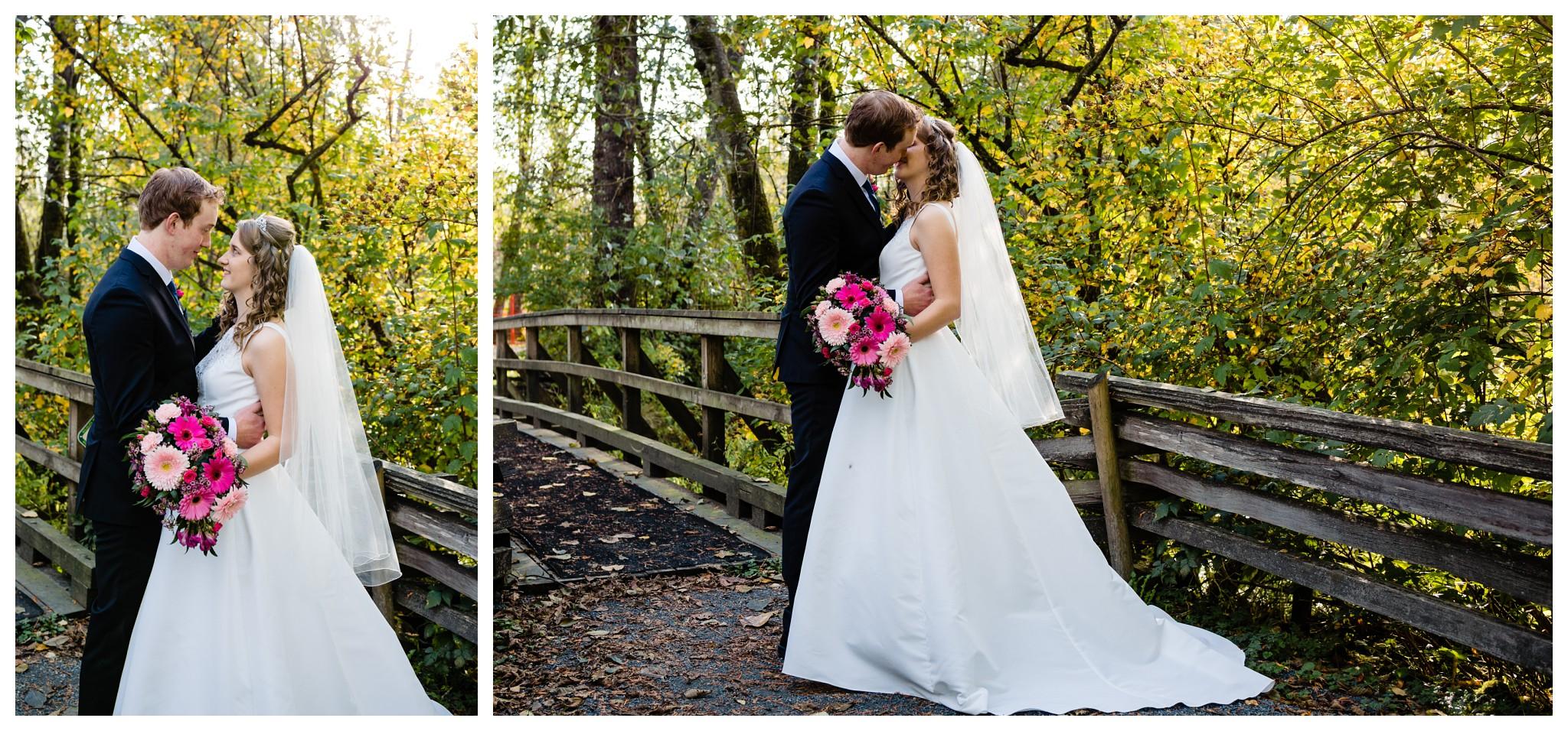 Aldergrove Park Christian Church Wedding Photography Pink Flowers Blue Bridesmaid Dress Fall_0100.jpg