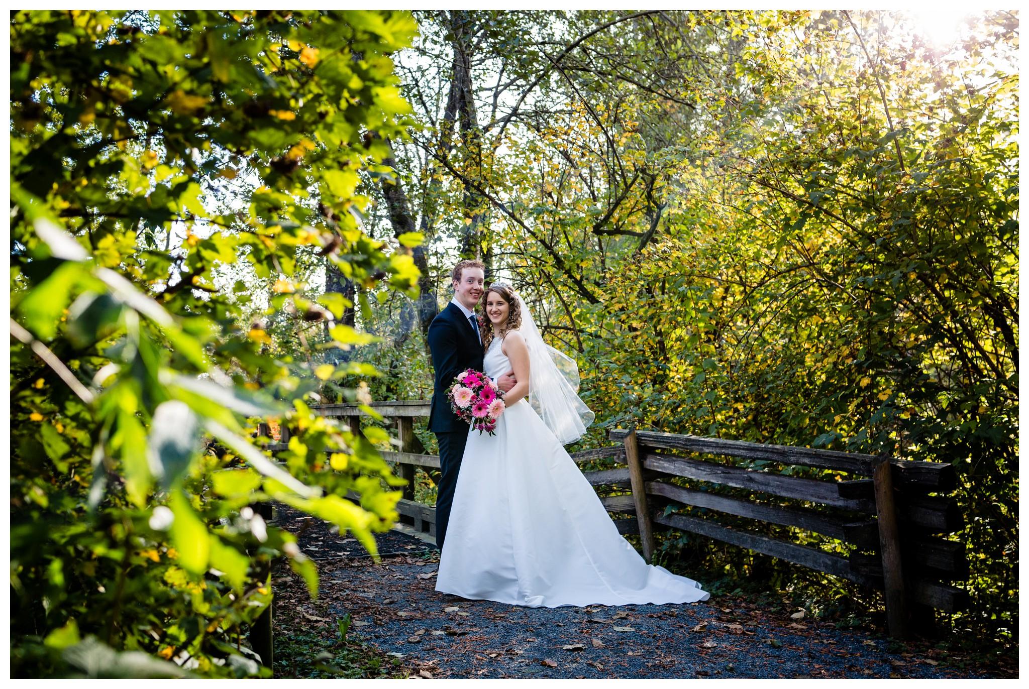 Aldergrove Park Christian Church Wedding Photography Pink Flowers Blue Bridesmaid Dress Fall_0101.jpg