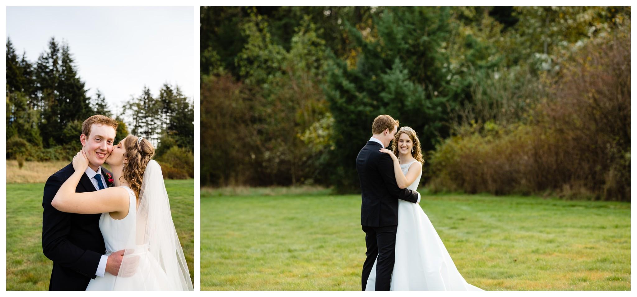 Aldergrove Park Christian Church Wedding Photography Pink Flowers Blue Bridesmaid Dress Fall_0112.jpg
