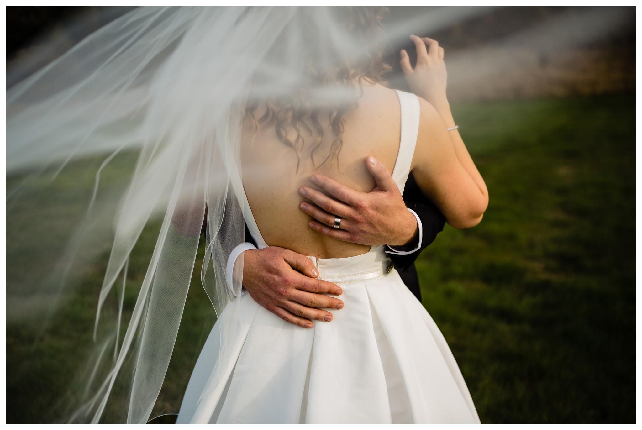 Aldergrove Park Christian Church Wedding Photography Pink Flowers Blue Bridesmaid Dress Fall_0115.jpg