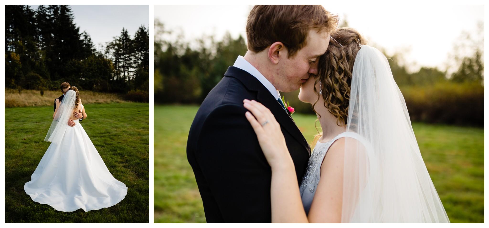 Aldergrove Park Christian Church Wedding Photography Pink Flowers Blue Bridesmaid Dress Fall_0117.jpg