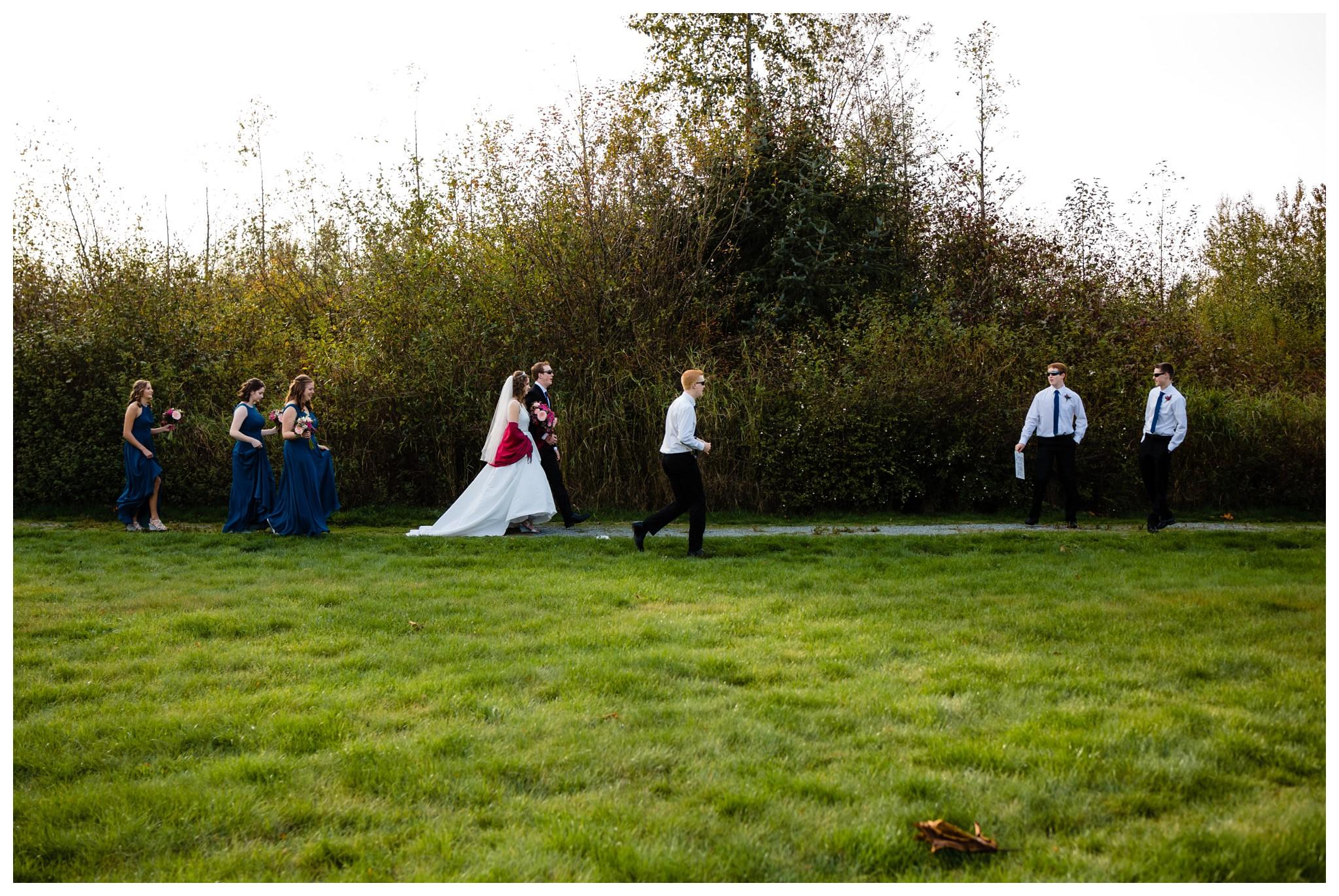 Aldergrove Park Christian Church Wedding Photography Pink Flowers Blue Bridesmaid Dress Fall_0126.jpg