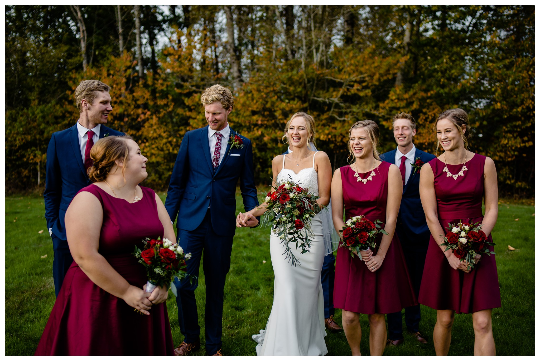 Campbell Valley Park Wedding Photographer Canadian Reformed Church Willoughby Heights Christian Fall Burgundy Navy Roses Wedding_0062.jpg