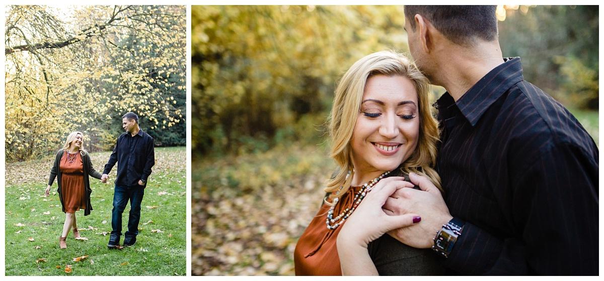 Redwood Park Surrey Engagement Photographer Couples Fall Evening_0006.jpg