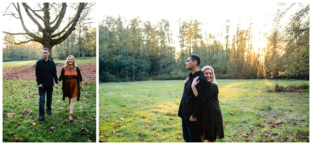 Redwood Park Surrey Engagement Photographer Couples Fall Evening_0010.jpg