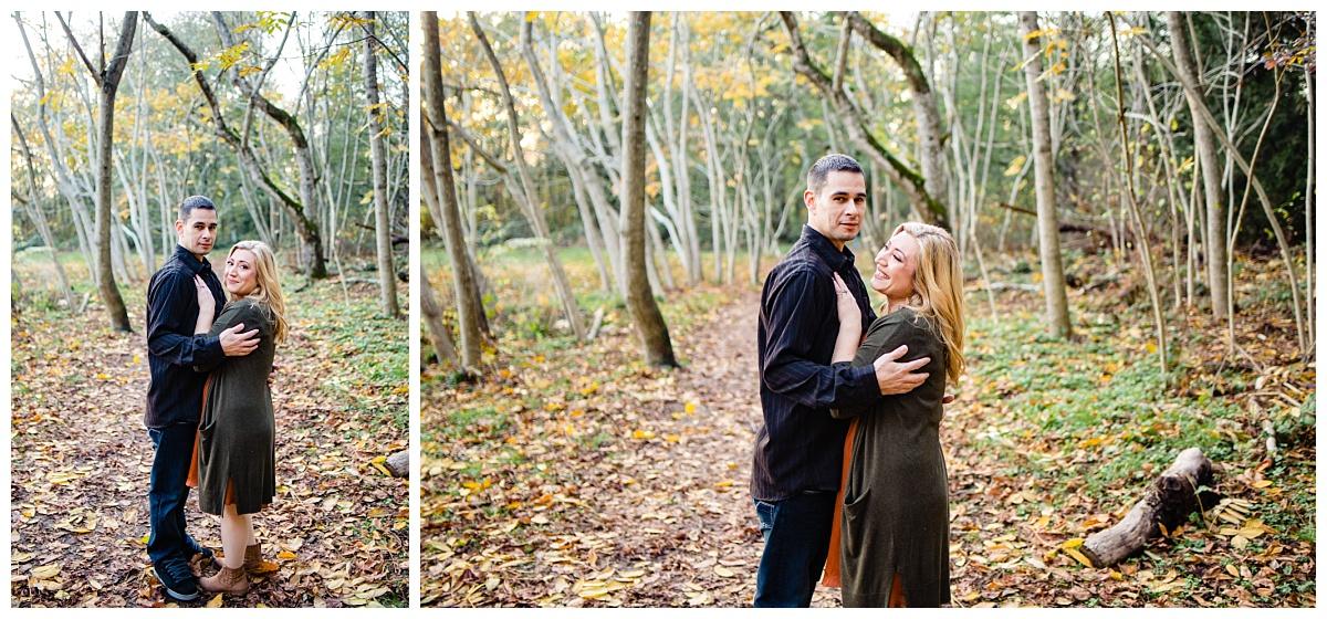 Redwood Park Surrey Engagement Photographer Couples Fall Evening_0020.jpg