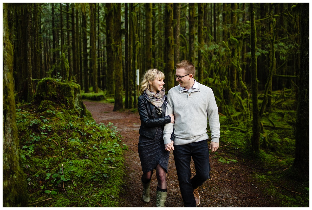 Alouette Lake Spirea Forest Engagement Photo Session Green Forest Woods Rich Colours Candid Happy Love Maple Ridge photographer_0004.jpg