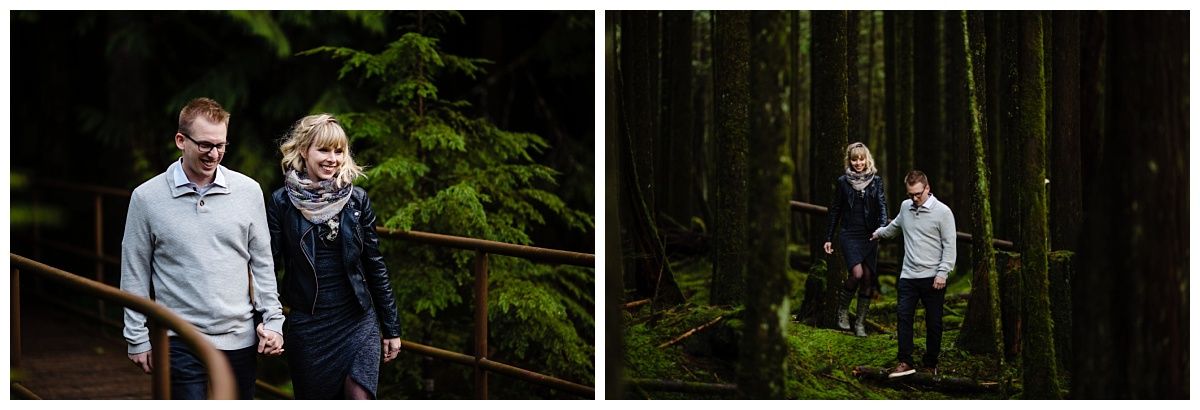 Alouette Lake Spirea Forest Engagement Photo Session Green Forest Woods Rich Colours Candid Happy Love Maple Ridge photographer_0010.jpg