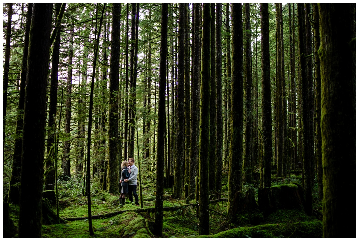 Alouette Lake Spirea Forest Engagement Photo Session Green Forest Woods Rich Colours Candid Happy Love Maple Ridge photographer_0014.jpg