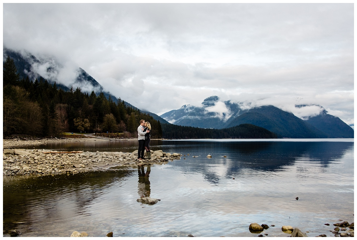 Alouette Lake Spirea Forest Engagement Photo Session Green Forest Woods Rich Colours Candid Happy Love Maple Ridge photographer_0020.jpg