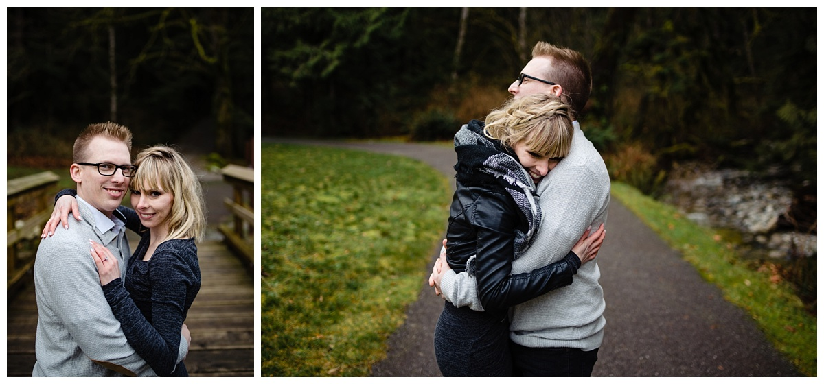 Alouette Lake Spirea Forest Engagement Photo Session Green Forest Woods Rich Colours Candid Happy Love Maple Ridge photographer_0027.jpg