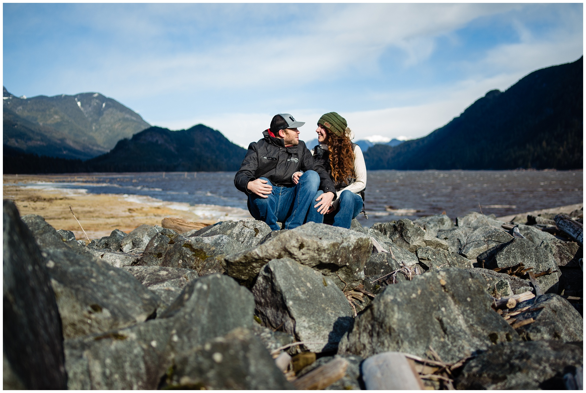 Stave Lake Adventure Engagement  Photographer Mission Fun Candid Natural Romantic Couple Poses_0002.jpg