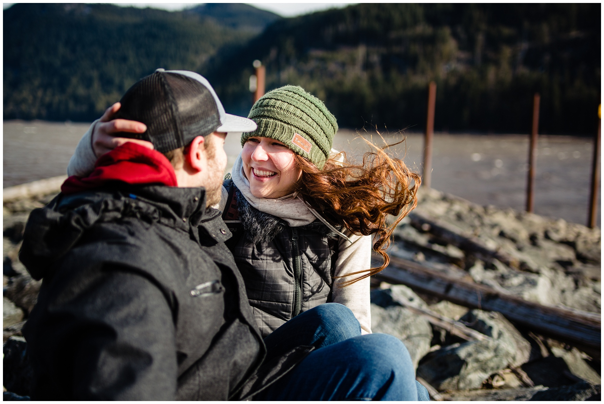 Stave Lake Adventure Engagement  Photographer Mission Fun Candid Natural Romantic Couple Poses_0003.jpg