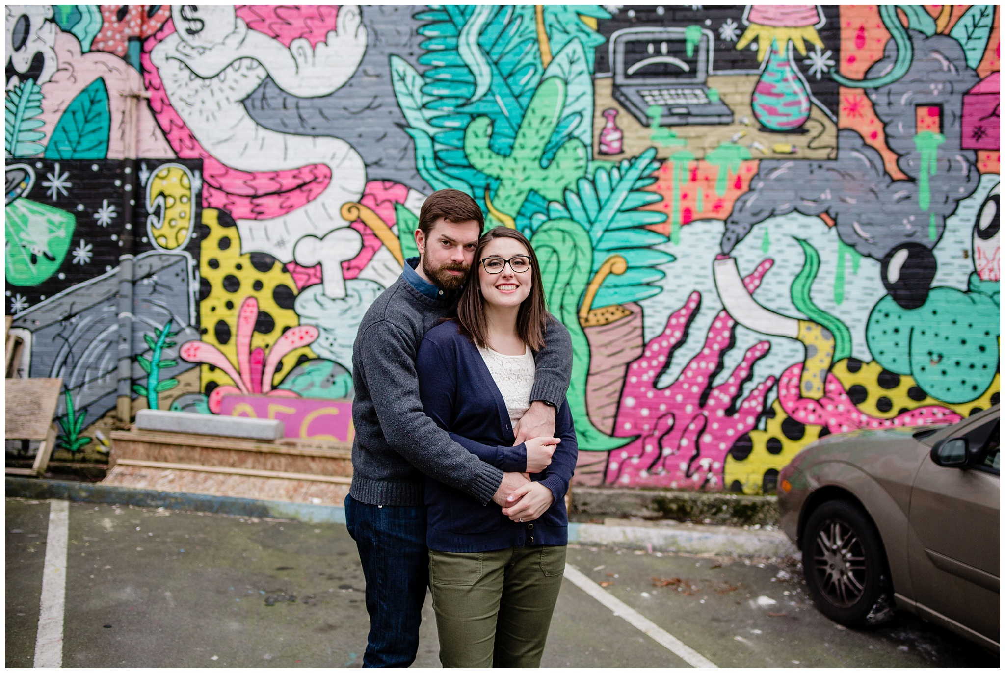 Olympic Village Mural Walk Engagement Urban Fun Casual Photography Mimsical Photography 2019_0004.jpg