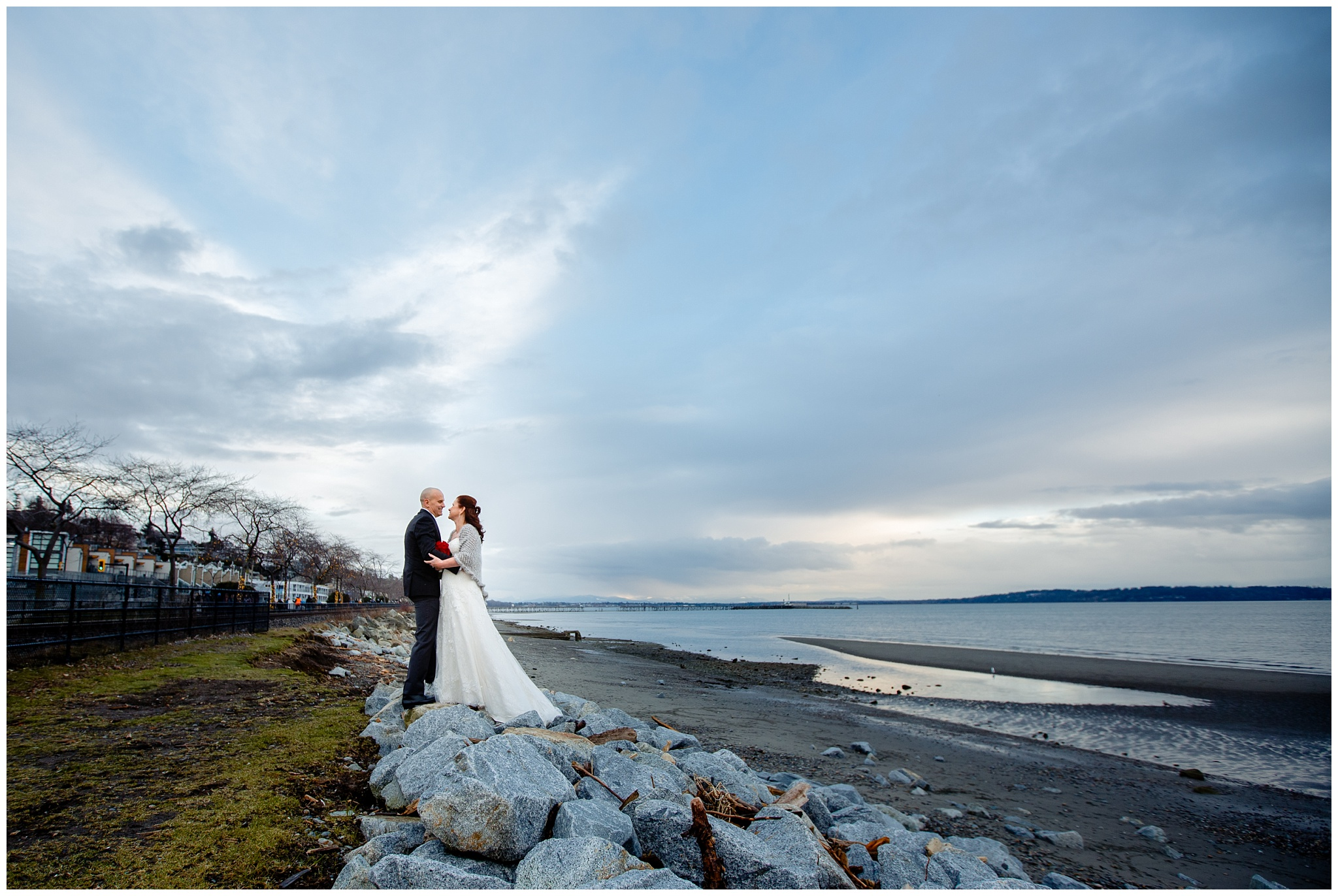 White Rock Intimate Wedding 5 Star Catering Venue Surrey BC Middle Aged Couple_0011.jpg