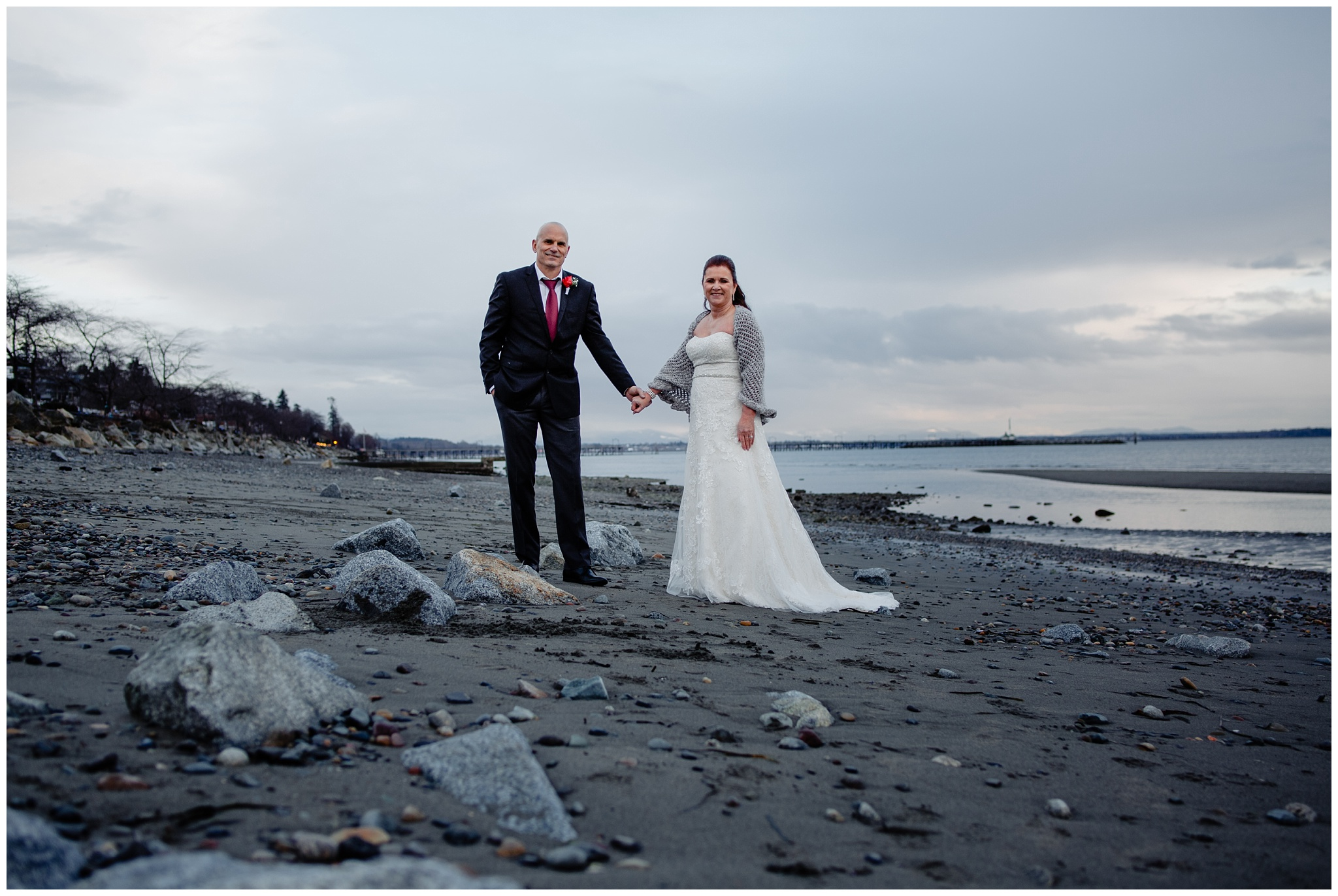 White Rock Intimate Wedding 5 Star Catering Venue Surrey BC Middle Aged Couple_0016.jpg