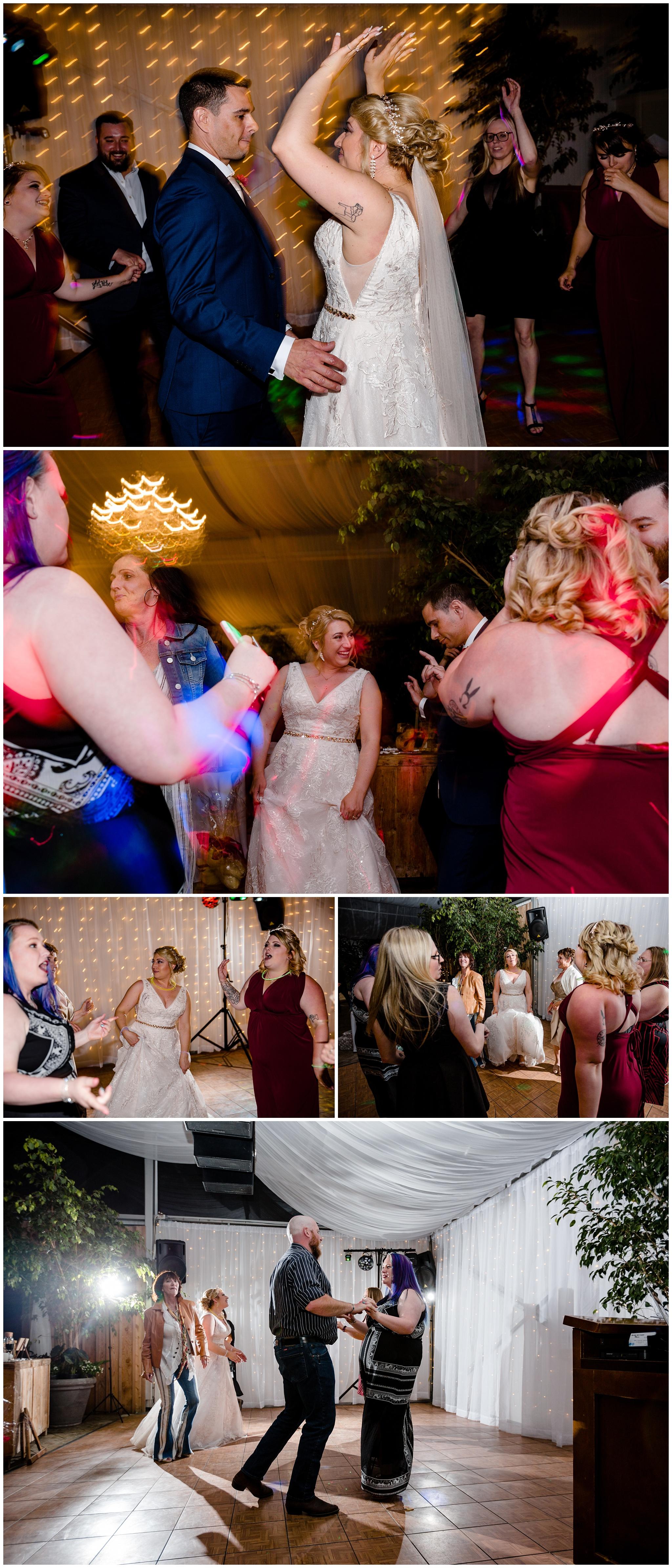 The Secret Garden at Woodbridge Ponds Abbotsford Wedding Venue Photography Fun Candid Happy Pink Purple  Real_0035.jpg
