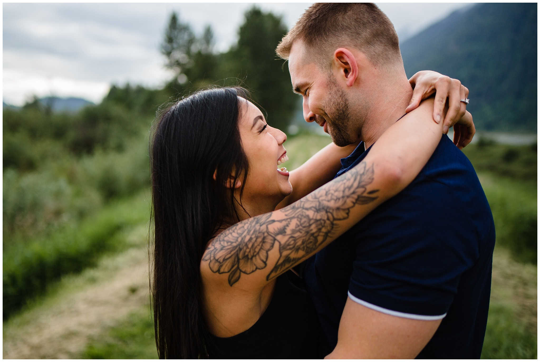 Pitt Lake Engagement Photos Maple Ridge Candid Fun Romantic Couples Photography_0007.jpg