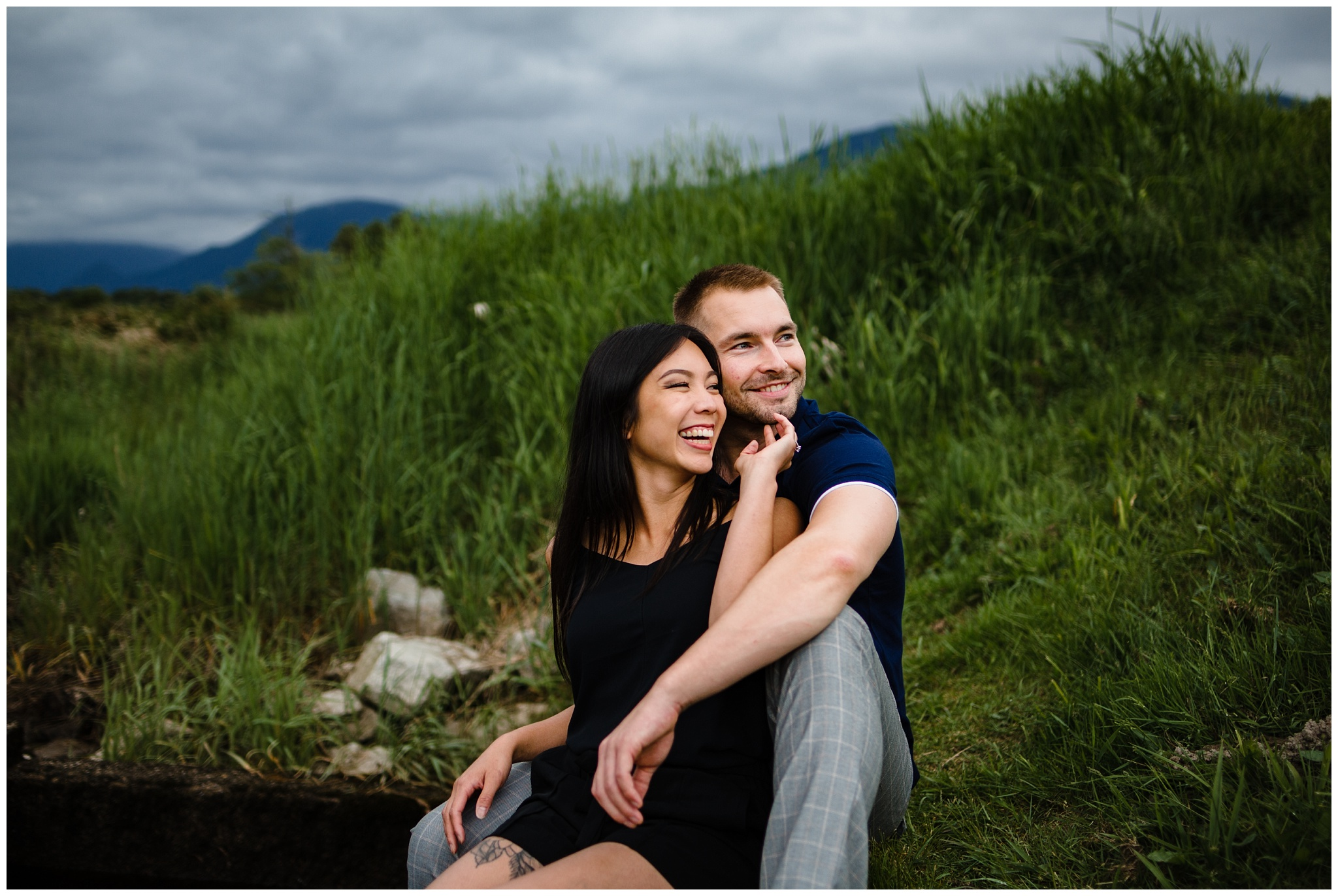 Pitt Lake Engagement Photos Maple Ridge Candid Fun Romantic Couples Photography_0012.jpg