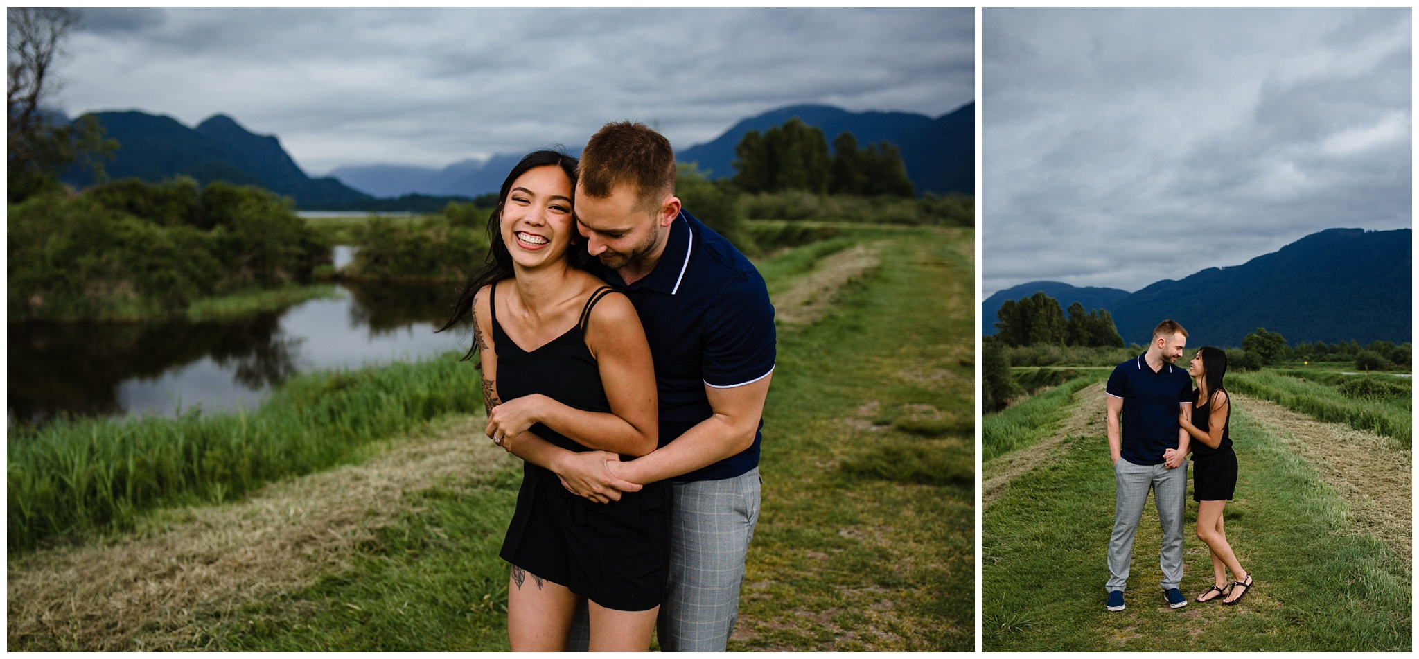 Pitt Lake Engagement Photos Maple Ridge Candid Fun Romantic Couples Photography_0014.jpg