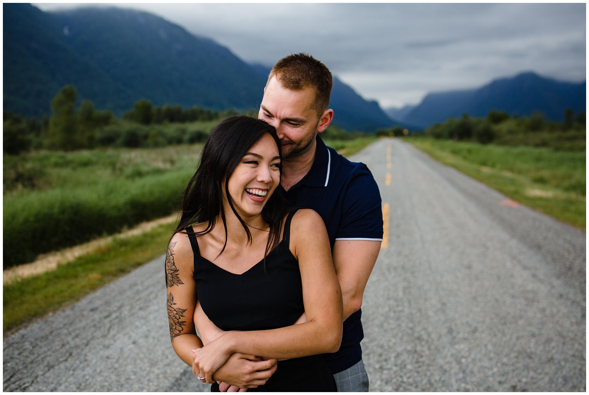 Pitt Lake Engagement Photos Maple Ridge Candid Fun Romantic Couples Photography_0016.jpg