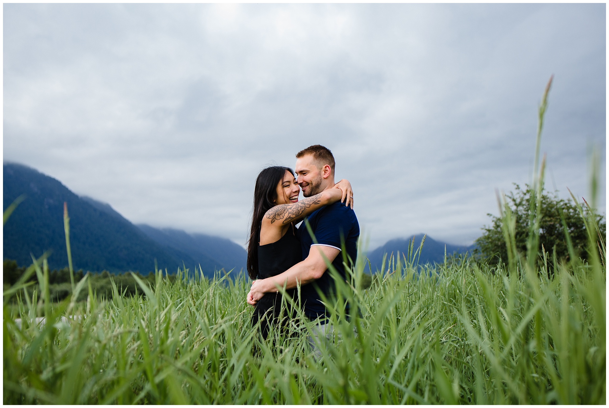 Pitt Lake Engagement Photos Maple Ridge Candid Fun Romantic Couples Photography_0019.jpg