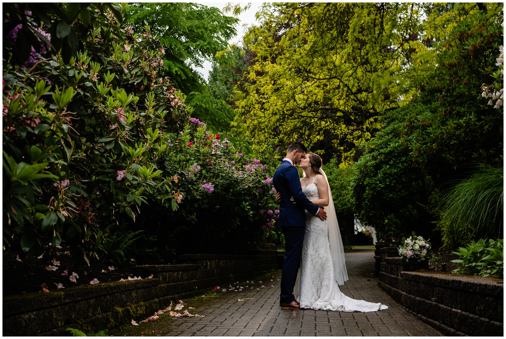 Cloverdale Canadian Reformed Church Wedding Sendall Garden Bride Groom Portraits Christian Couples Best Photographer in Langley Surrey British Columbia_0046.jpg