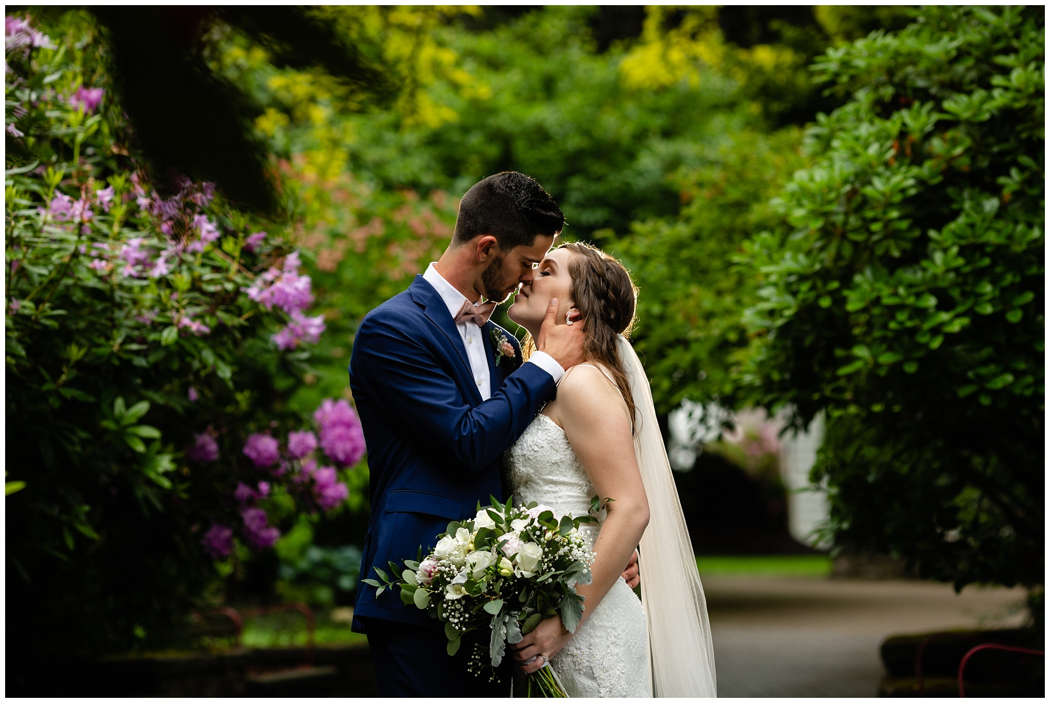 Cloverdale Canadian Reformed Church Wedding Sendall Garden Bride Groom Portraits Christian Couples Best Photographer in Langley Surrey British Columbia_0048.jpg