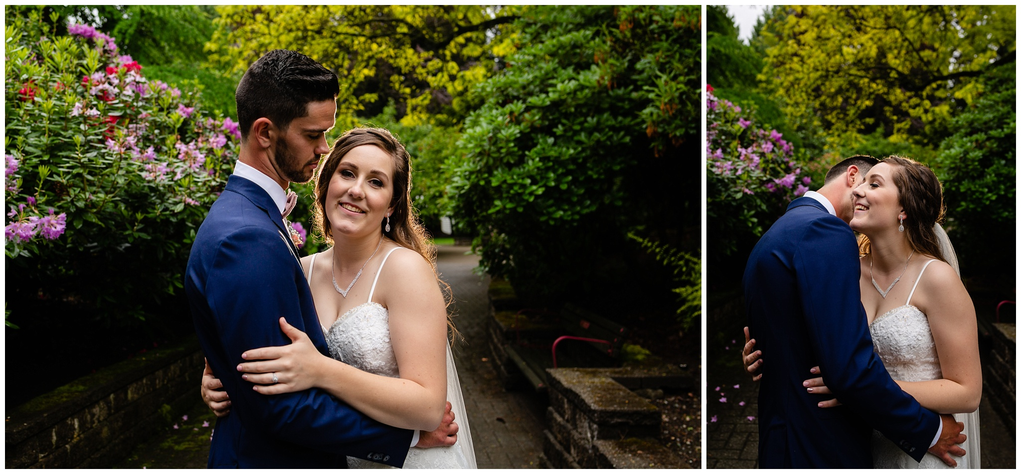 Cloverdale Canadian Reformed Church Wedding Sendall Garden Bride Groom Portraits Christian Couples Best Photographer in Langley Surrey British Columbia_0050.jpg
