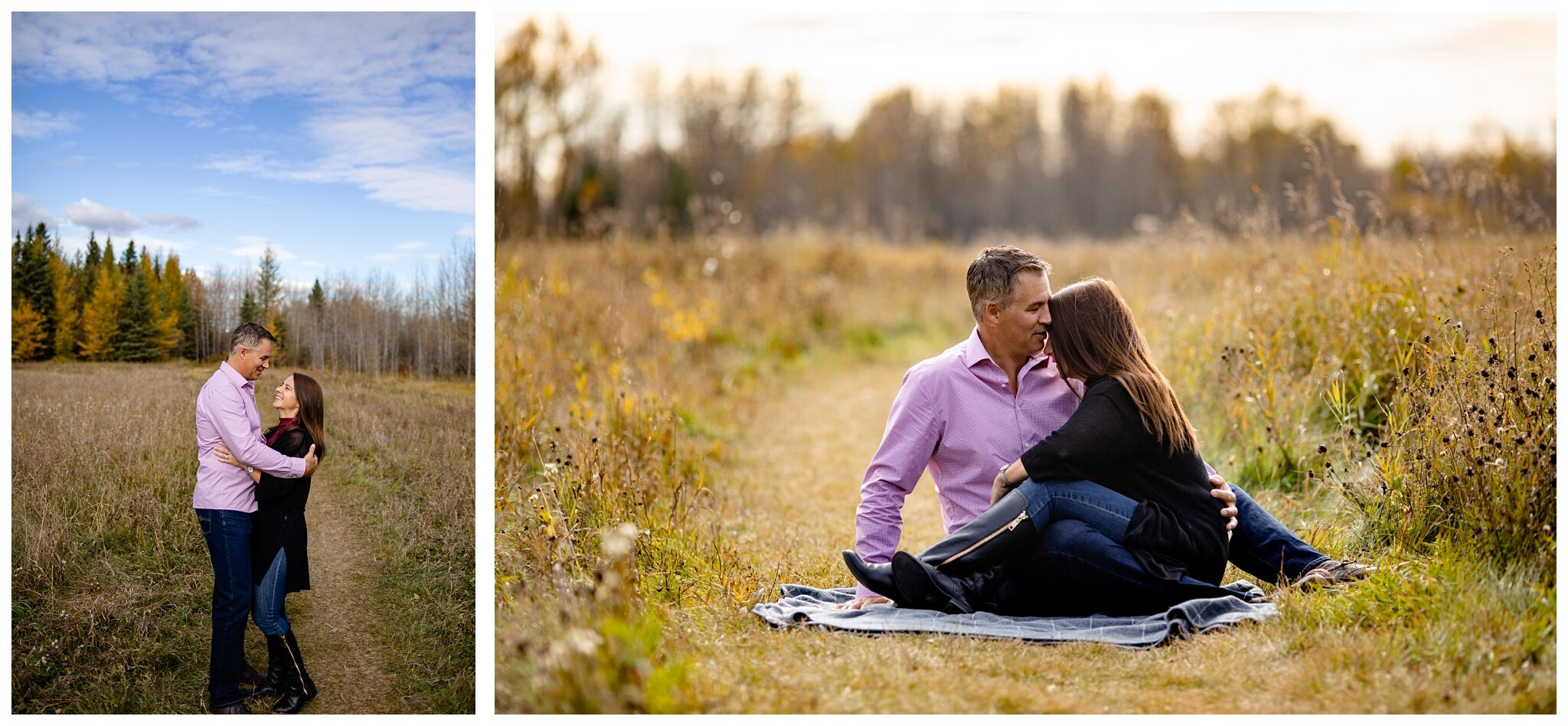 Wagner Natural Area Acheson couples Photographer Alberta  engagement older couple romantic fall photos_0004.jpg