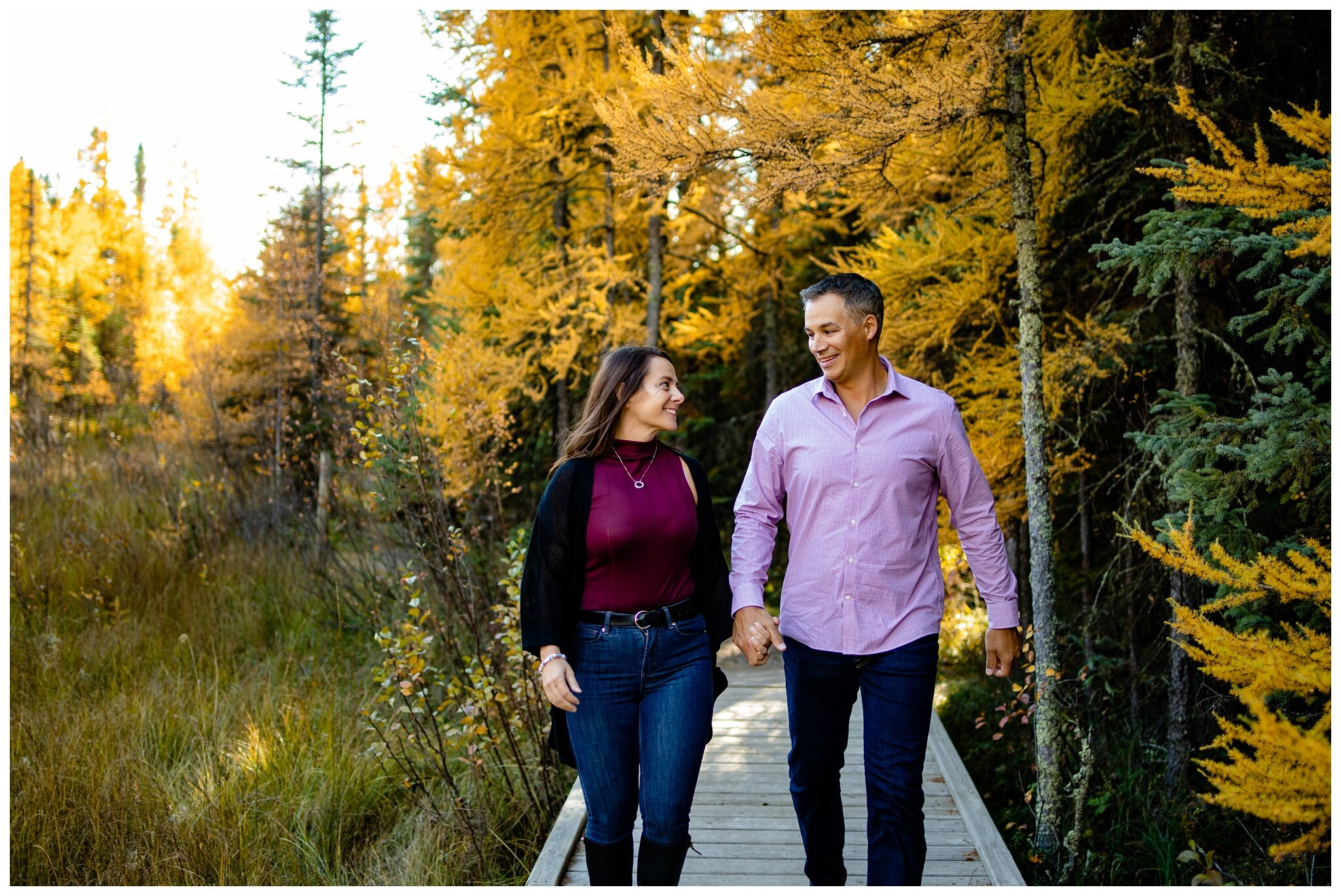 Wagner Natural Area Acheson couples Photographer Alberta  engagement older couple romantic fall photos_0018.jpg
