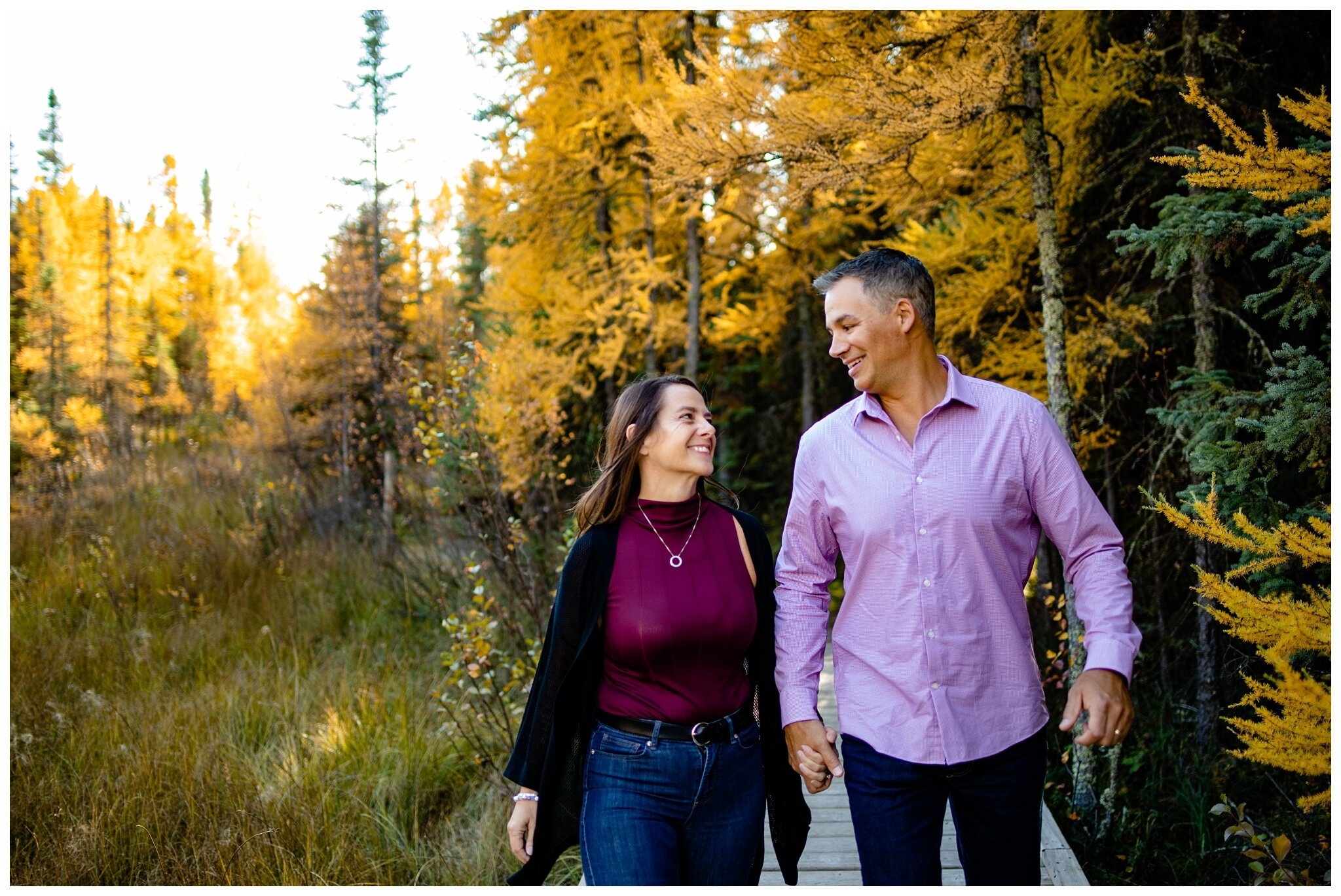 Wagner Natural Area Acheson couples Photographer Alberta  engagement older couple romantic fall photos_0019.jpg