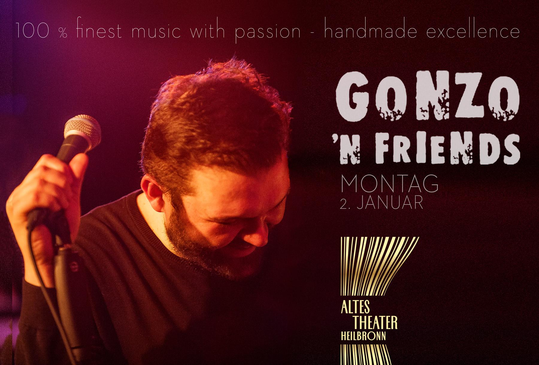 Gonzo N Friends - Altes Theater Heilbronn