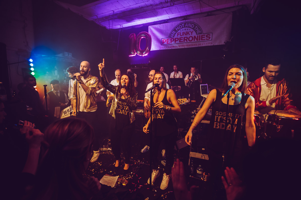 Mr. HOT and the FUNKY PEPPERONIES kommen ins ALTE THEATER Heilbronn