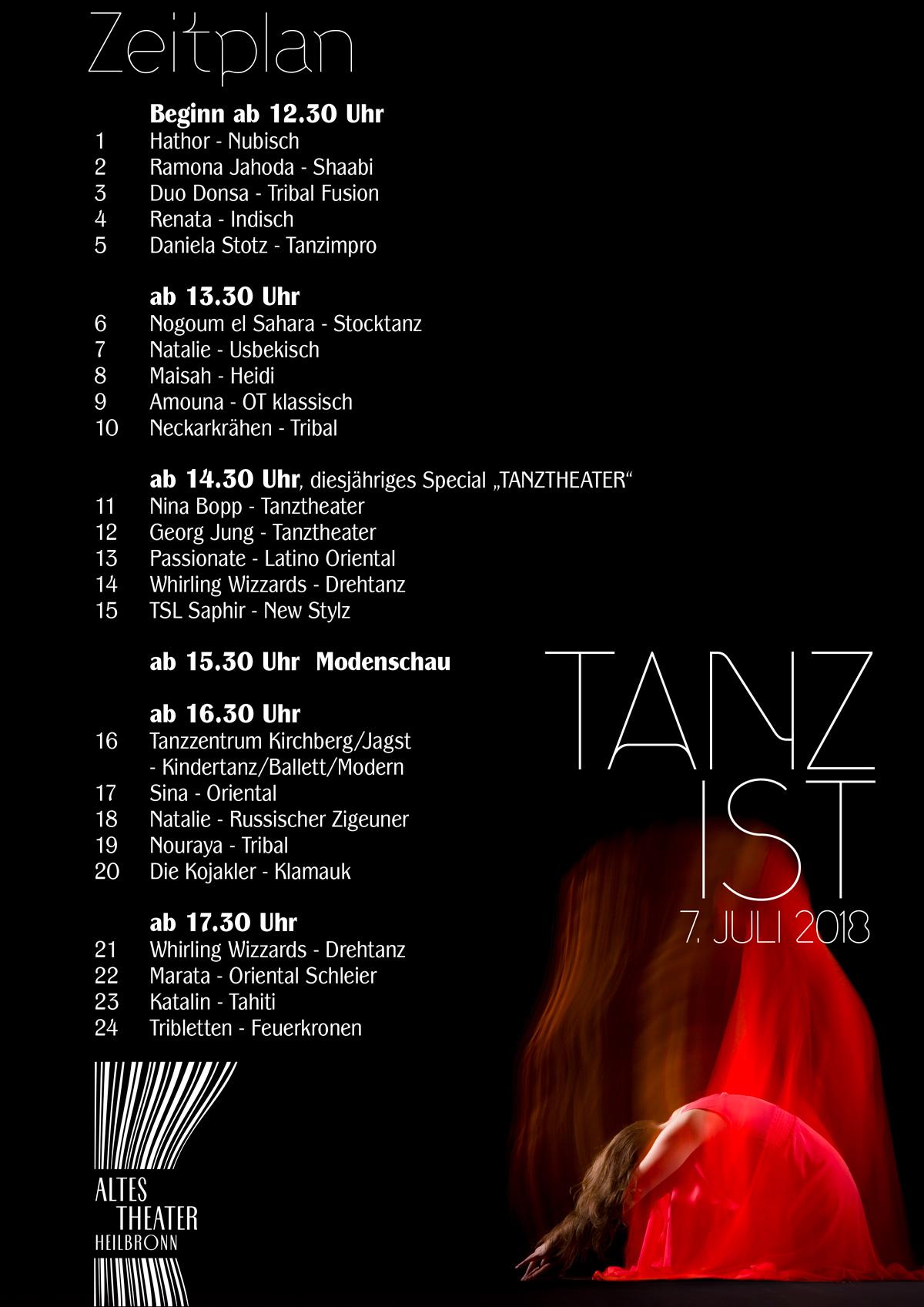 TANZ IST - 4. Tanzannuale in Heilbronn