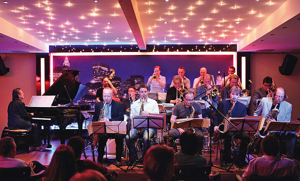 Eine Ansammlung Deutschlands bester Jazz-Musiker: JAZZFACTORY ORCHESTRA