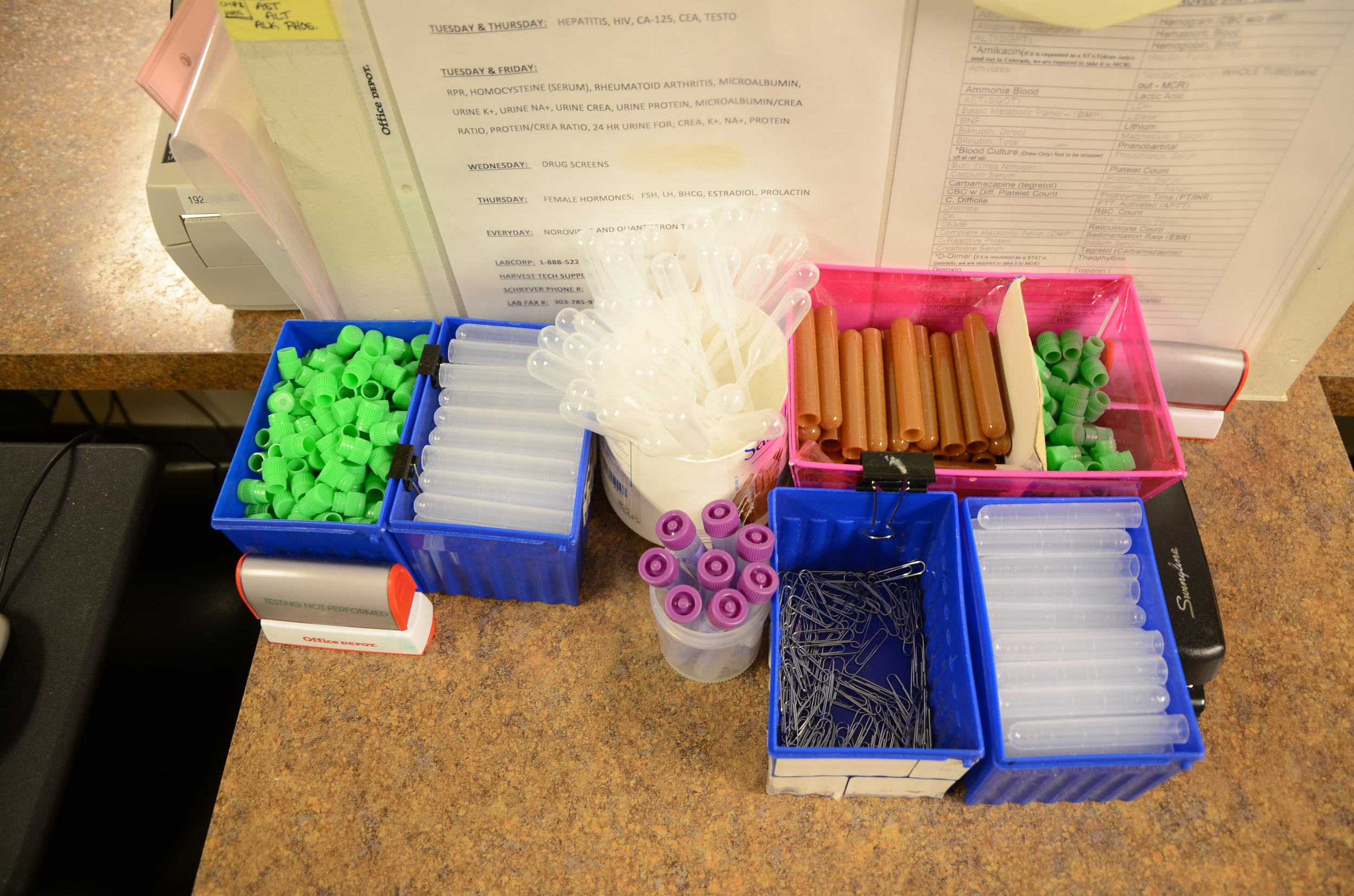 Specimen Processing Supplies